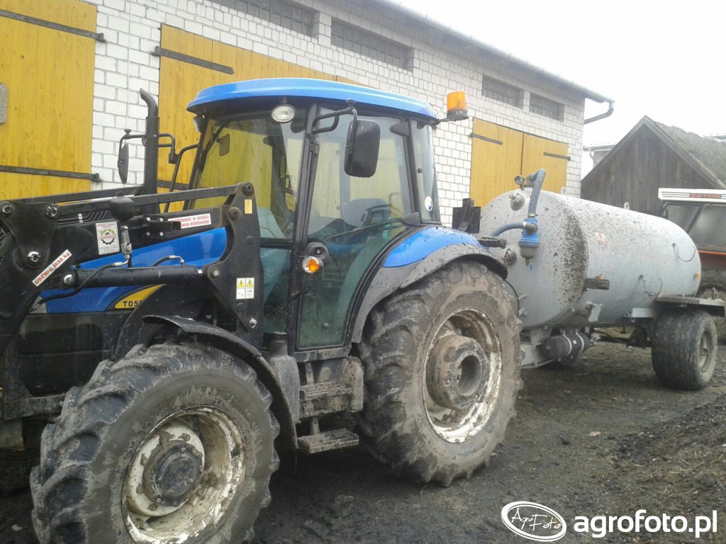 New holland td5030 \u0026 Pomot 5000