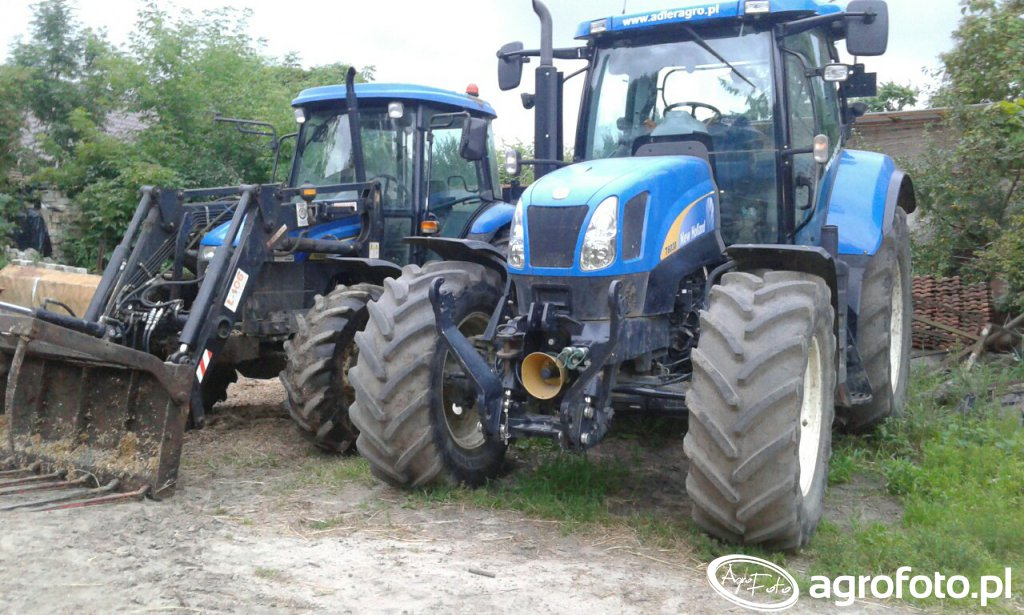 New Holland TD90D & New Holland T6030 RC