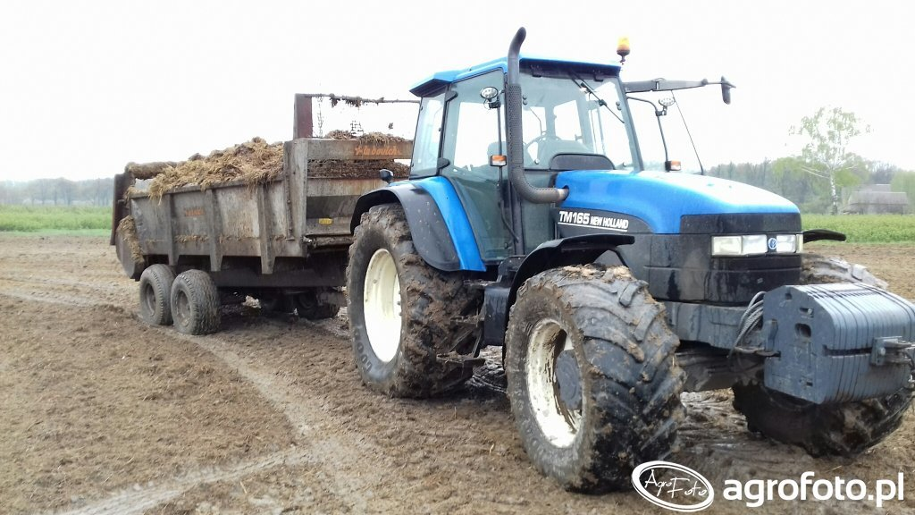 New holland Tm 165 & leboulch