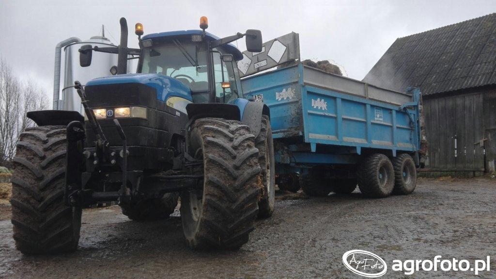 New holland tm190