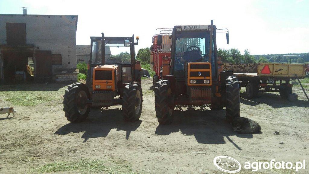Renault 95.14 & Renault 70.34
