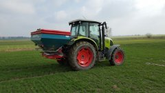 Claas Ares 557 i rosiewacz sulky dpx28