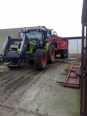 Claas Arion 430 & Metal Fach 272/1