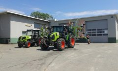 Claas Axion i Nexos