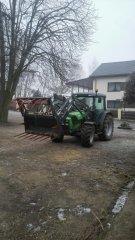 Deutz-Fahr Agroplus Ecoline 310& Stoll Ecoline FE 750 P