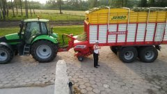 Deutz fahr agrotron 150.7 & Pottinger Jumbo 7200