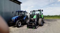 Deutz Fahr i New holand