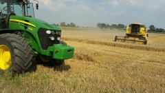 John deere 7930 & New holland tc 56