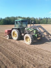 JohnDeere 2850 + Saxonia