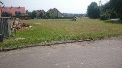 Koszenie trawy na zielonke