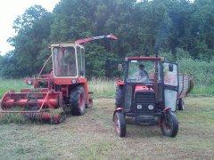 MF 255 i Sieczkarnia z320
