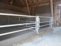 Miejsce na bydło w stodole