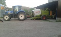 New Holland &  Claas Rollant
