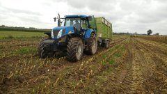 New Holland + Claas