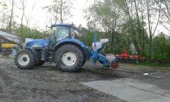 New Holland T6030 RC & Monosem PNU 6