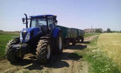 New Holland t7 200 2x hl 8011