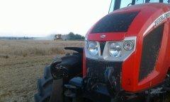 New holland tc 5050 & Zetor forterra 140 hsx atakują pszenice