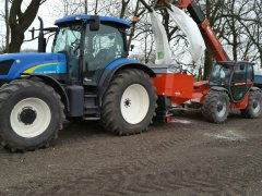 New Holland ts115 i manitou 731