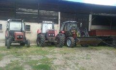 Zetor 7211 & 16145 & Belarus 952