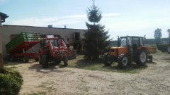 Zetor Major 80 + Pronar T653/2 & Renault 70-34 + Sanok