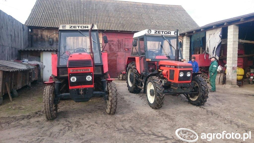 Zetor 8111  & Zetor 5245