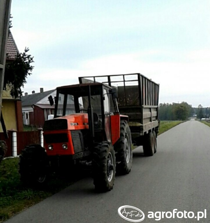 Zetor 8145 + Brimont 11