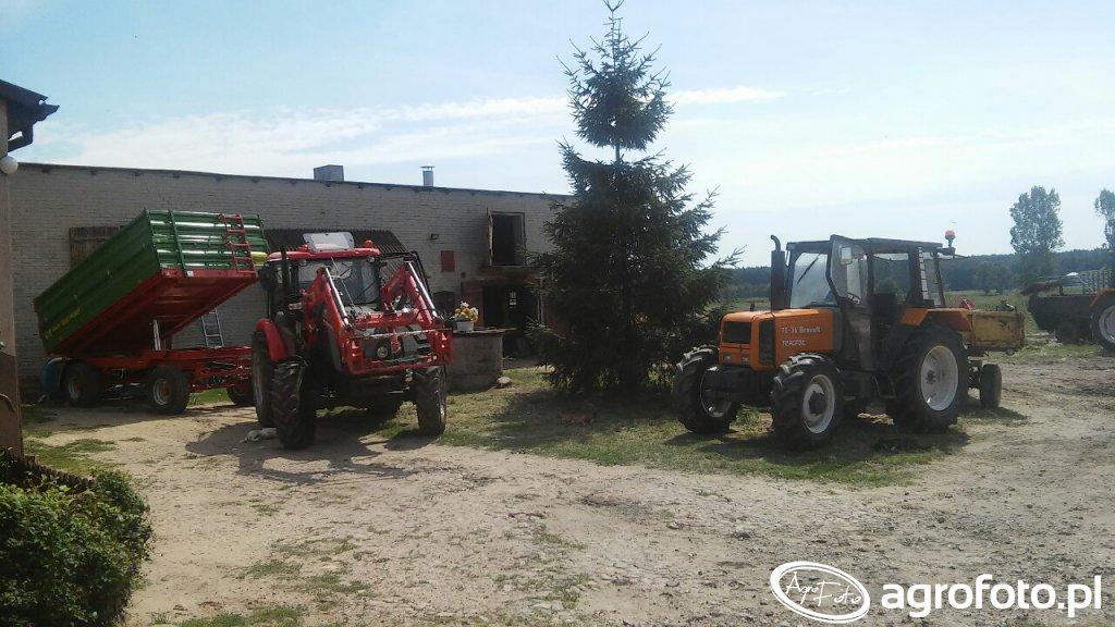 Zetor Major 80 + Pronar T653/2 & Renault 70-34 + Sanok