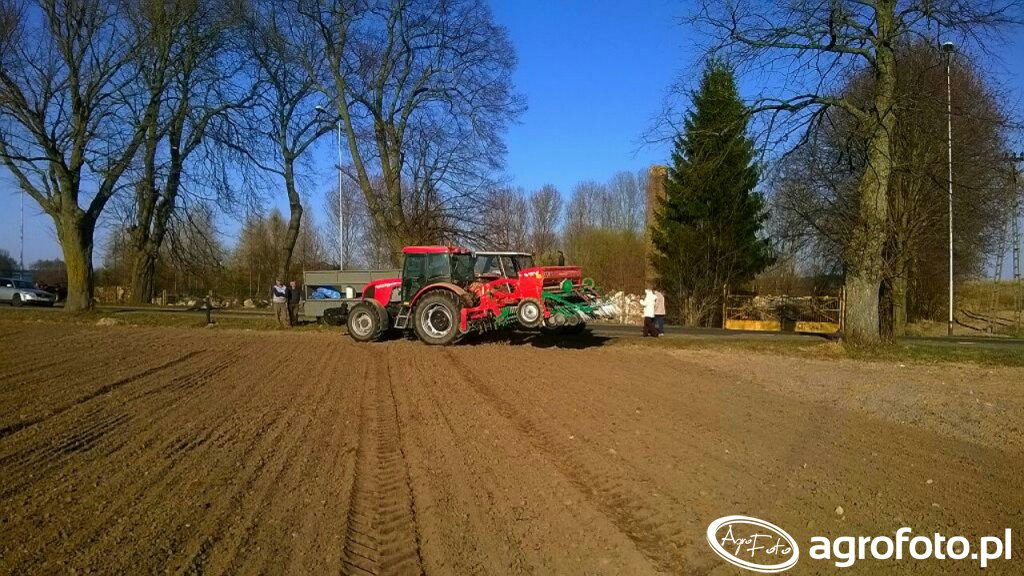 Zetor proxima plus & Agro-Masz SR300 + agregat