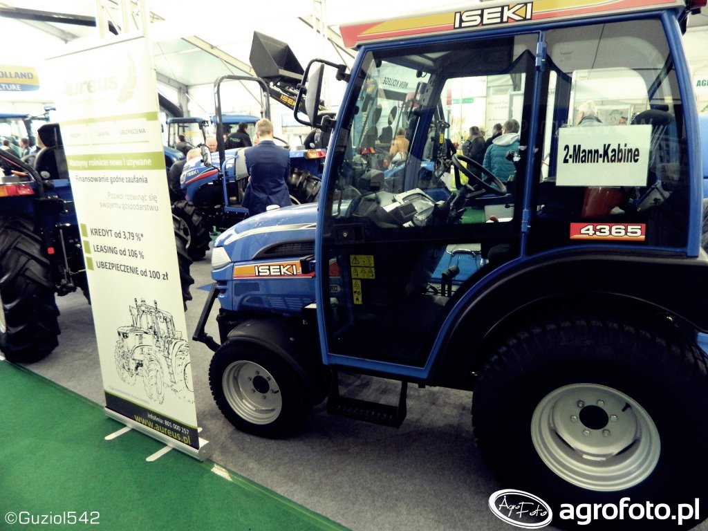 Ciągnik sadowniczy Iseki