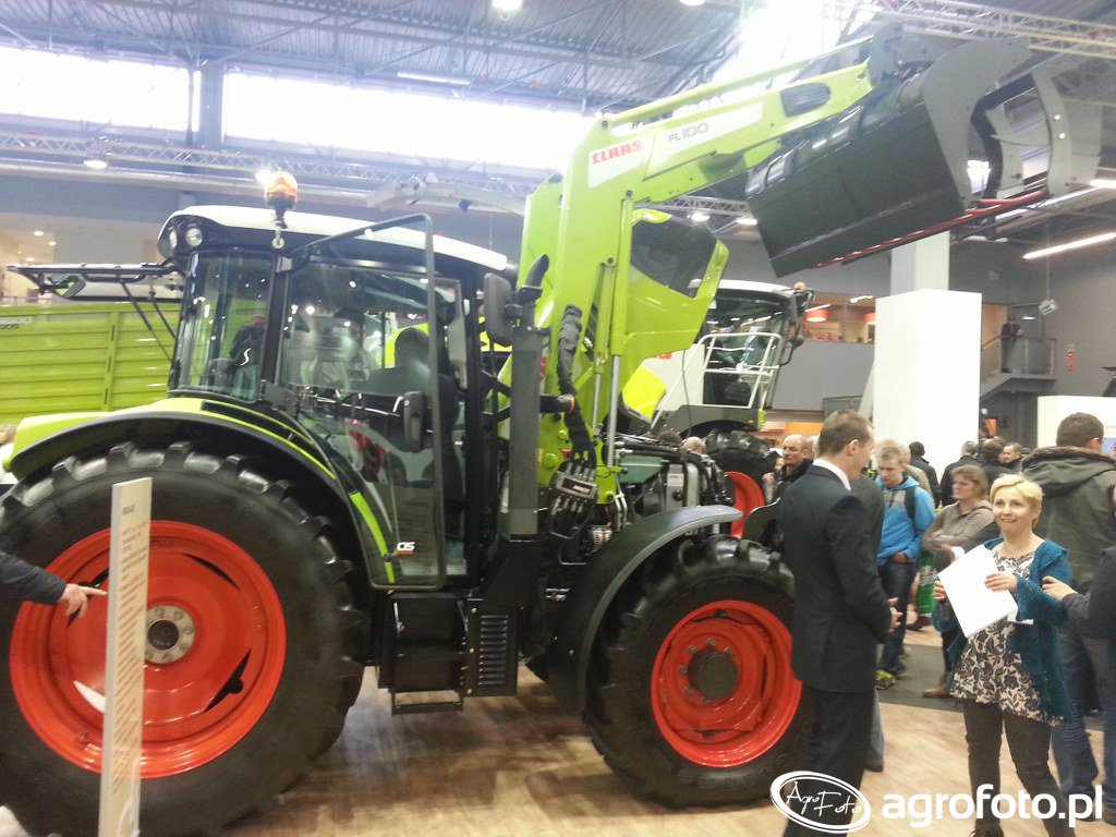 Claas Arion 420 + FL100