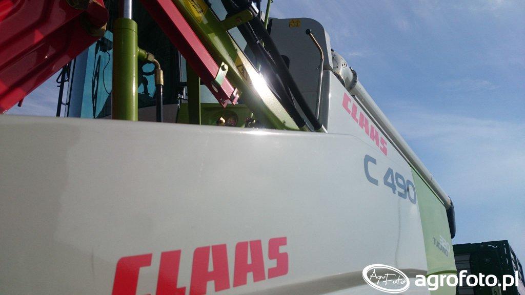 Claas C490