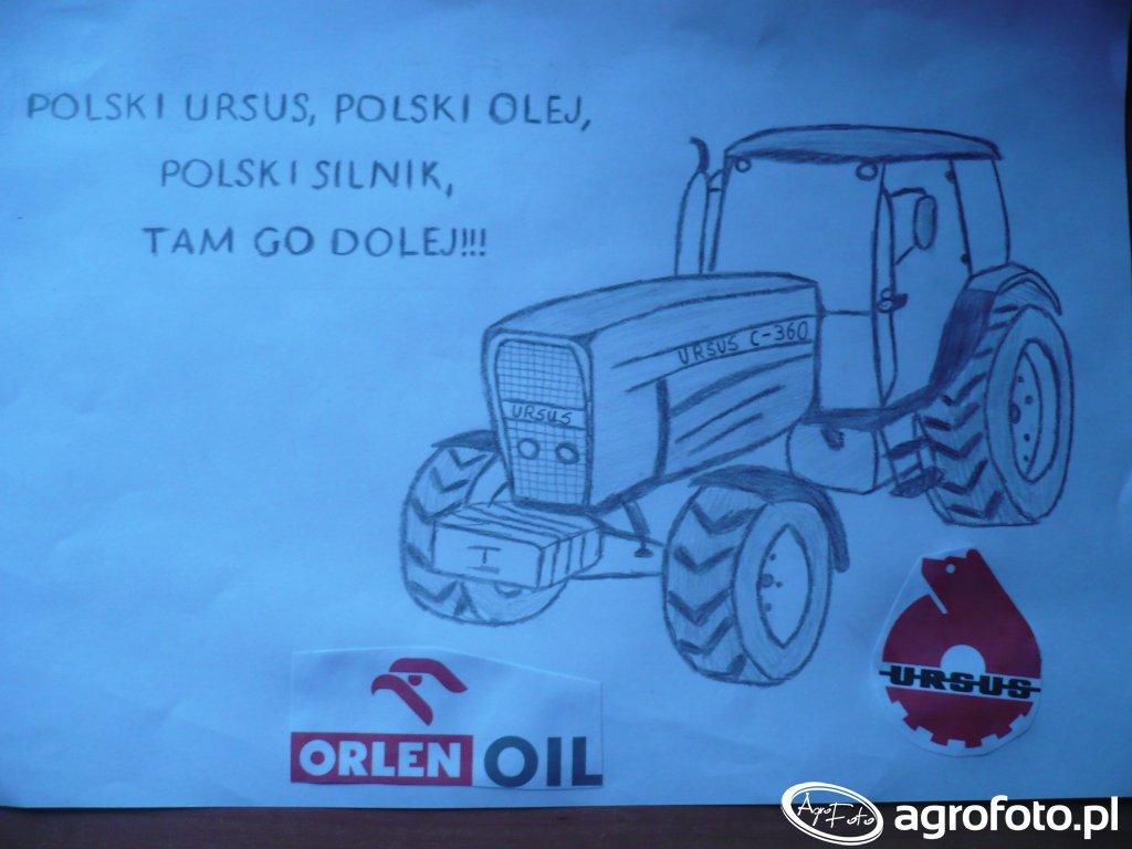 Polski Ursus, Polski olej, Polski silnik Tam go dolej
