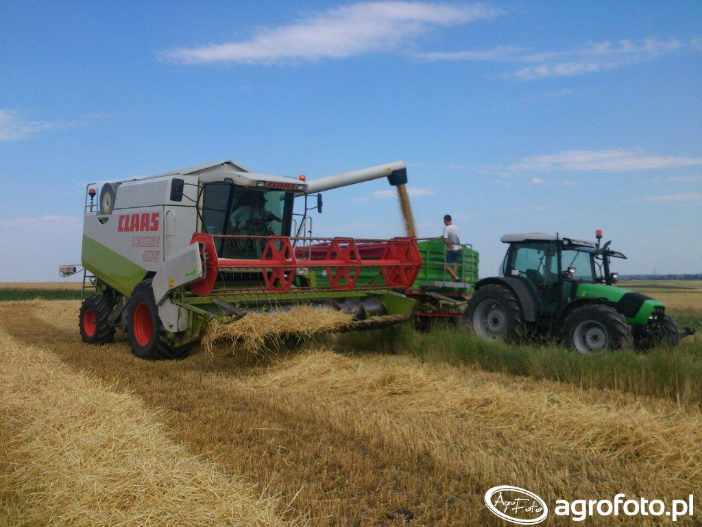 Claas lexion 405 , Deutz-Fahr Agrofarm 430 i Unia p-10 long