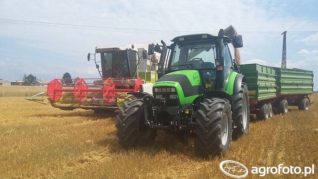 Claas Medion 310 & Deutz-Fahr Agrotron 150 & Pronar