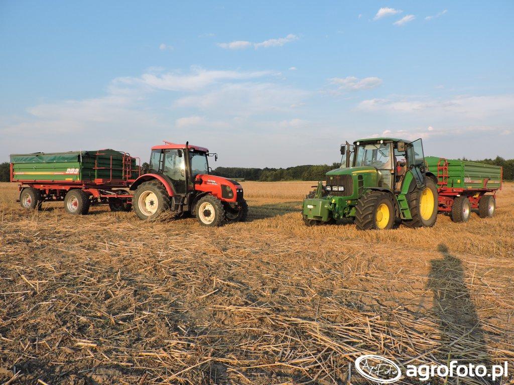 JD6630 & Zetor 6441 & 2x Metaltech DB8
