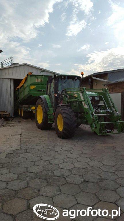John Deere 6115M & Umega SPC12