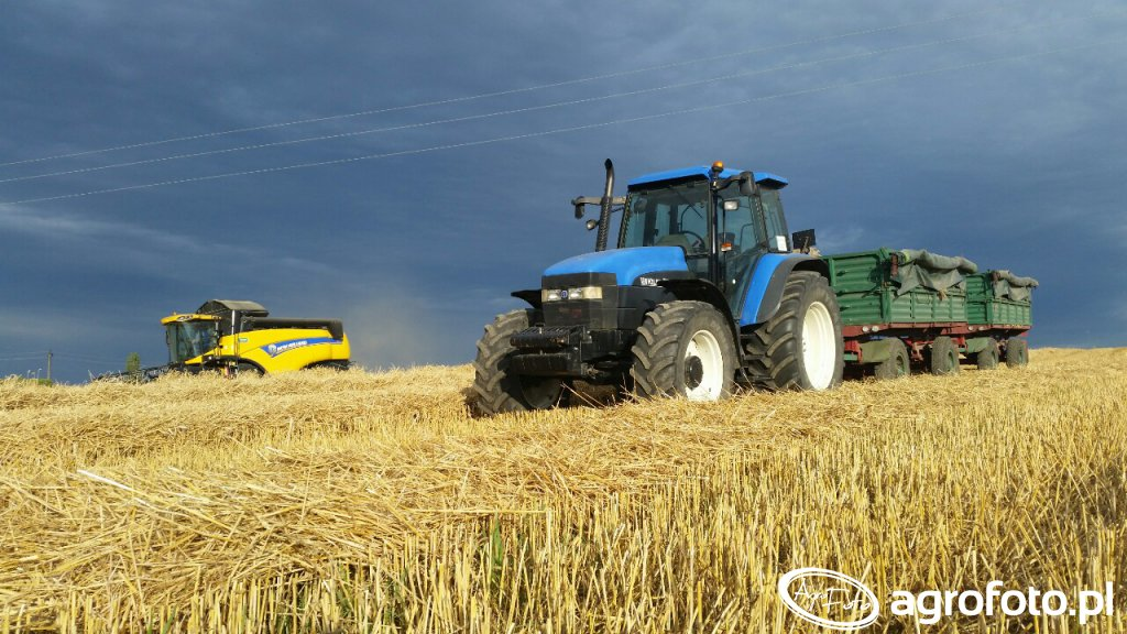 New holland cx5080 & tm125