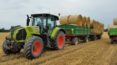 Claas Arion 620 Cebis + słoma
