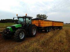 Deutz Fahr Agrofarm 430 & Wielton