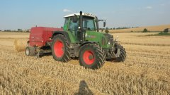 Fendt 414 i Case RB344
