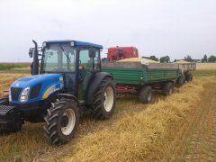 New Holland T4030 deluxe i Zasław + Autosan