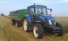 New Holland t5.95 + pronar