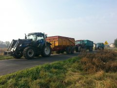 New Holland T6010 I T6030 & Case MXM120