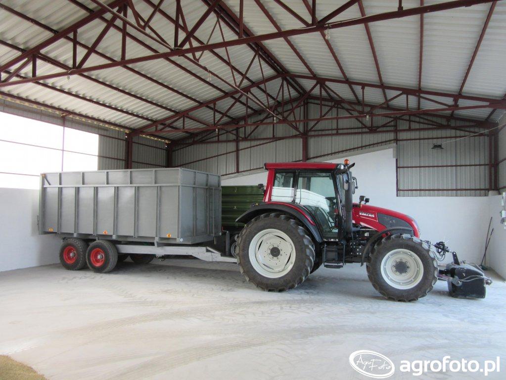 Valtra N 92  +  tandem 12 ton