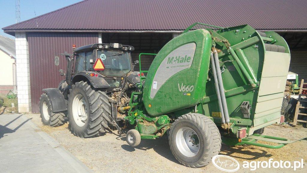 Valtra T151e & McHale V660