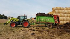 Claas Arion 430 Cis + Unia Tytan 12