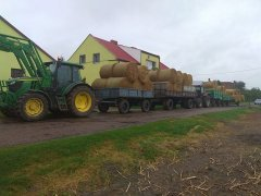 John Deere 6090MC Case 956xl