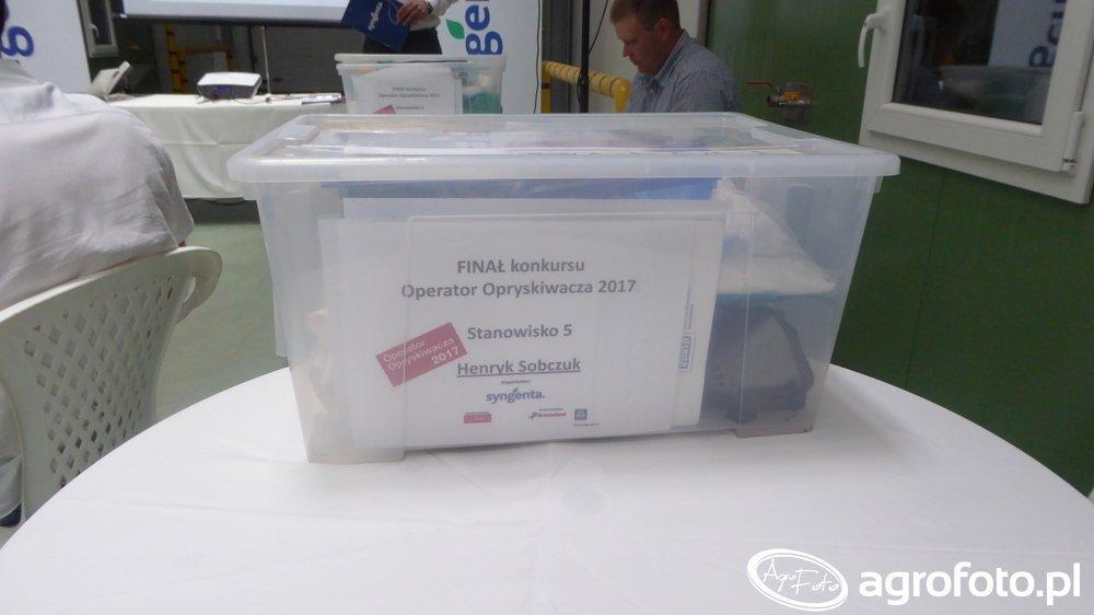 Konkurs na Najlepszego Operatora Opryskiwacza 2017