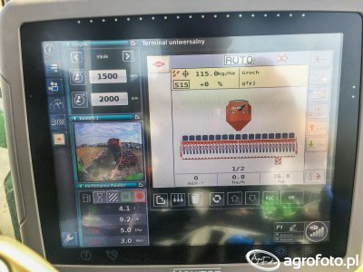 Deutz-Fahr Agrotron 7250TTV - iMonitor z ISOBUS
