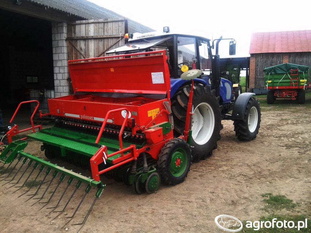 Unia Polonez 550 + Farmtrac 675DTN